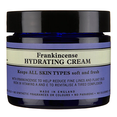 Buy Neal's Yard Frankincense Hydrating Cream, 50ml Online at johnlewis.com