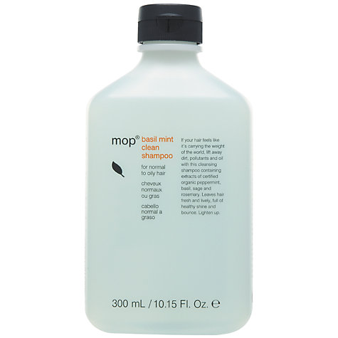 Buy mop® Basil Mint Shampoo Online at johnlewis.com