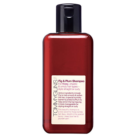 Buy TommyGuns Fig & Plum Shampoo, 250ml Online at johnlewis.com