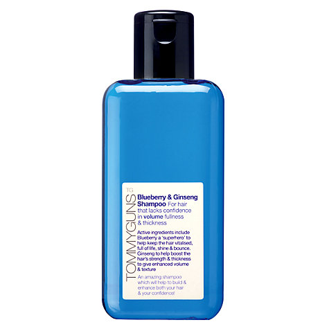 Buy TommyGuns Blueberry & Ginseng Shampoo, 250ml Online at johnlewis.com