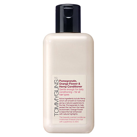 Buy TommyGuns Pomegranate, Orange Flower & Hemp Conditioner, 250ml Online at johnlewis.com