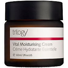 Buy Trilogy Vital Moisturising Cream, 60g Online at johnlewis.com