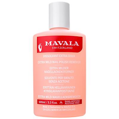 shop for MAVALA Extra Mild Nail Polish Remover (Acetone Free), 100ml at Shopo