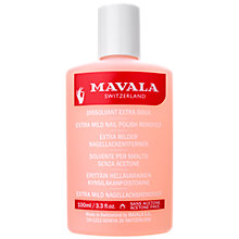 Buy MAVALA Extra Mild Nail Polish Remover (Acetone Free), 100ml Online at johnlewis.com