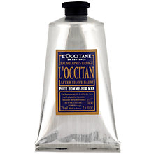 Buy L'Occitane Aftershave Balm Pour Homme, 75ml Online at johnlewis.com