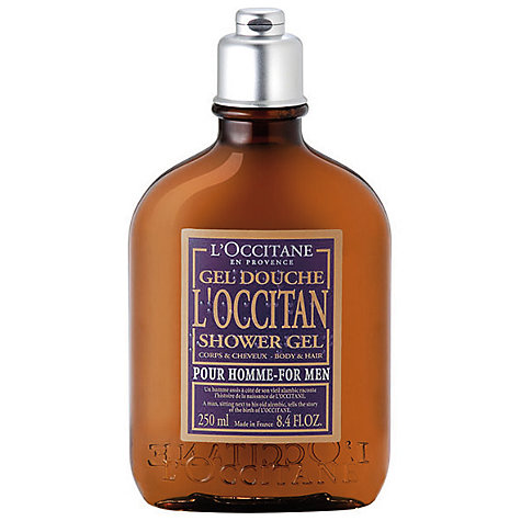 Buy L'Occitane for Men Hair and Body Wash, 250ml Online at johnlewis.com