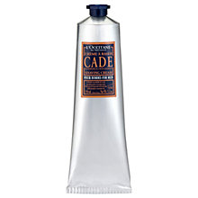 Buy L'Occitane Cade Shaving Cream, 150ml Online at johnlewis.com