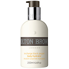 Buy Molton Brown Re-Charge Black Pepper Body Hydrator, 200ml Online at johnlewis.com