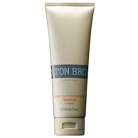 Buy Molton Brown Deep-Clean Mineral Ions Face Wash, 125ml Online at johnlewis.com