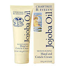 Buy Crabtree and Evelyn Jojoba Hand and Cuticle Cream, 100g Online at johnlewis.com