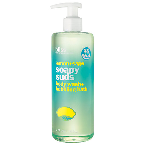 Buy Bliss Body and Bath Lemon and Sage Shower Gel, 500ml Online at johnlewis.com