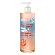 Buy Bliss Blood Orange and White Pepper Shower Gel, 473.2ml Online at johnlewis.com
