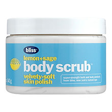 Buy Bliss Lemon & Sage Body Scrub, 340g Online at johnlewis.com