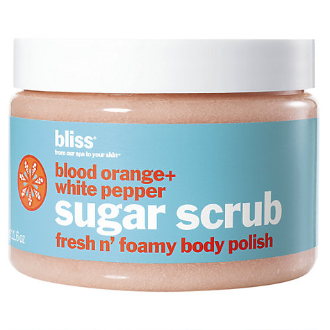 Buy Bliss Blood Orange & White Pepper Sugar Scrub Online at johnlewis.com