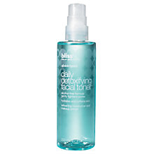 Buy Bliss Daily Detoxifying Facial Toner, 200ml Online at johnlewis.com