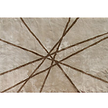 Buy Shearling Lines Sheepskin Rugs, Cream/Mocha Online at johnlewis.com