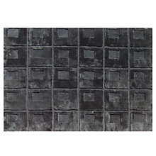 Buy Shearling Orbit Sheepskin Rugs, Black Online at johnlewis.com