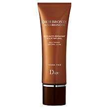 Buy Dior Dior Bronze Self-Tanner Natural Glow - Face, 50ml Online at johnlewis.com
