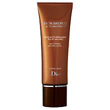 Buy Dior Bronze Self-Tanner Natural Glow - Body, 125ml Online at johnlewis.com