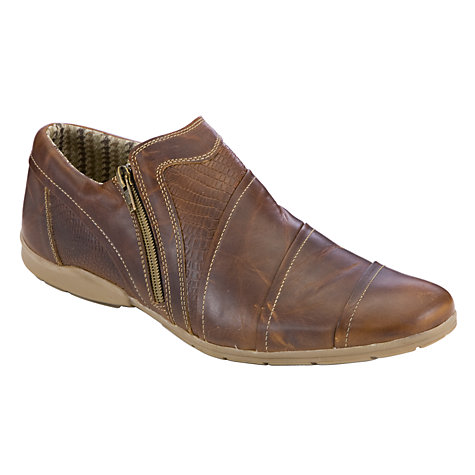 Buy Dune Shawn Leather Shoes Online at johnlewis.com