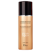 Buy Dior Dior Bronze Sun Protection Voile De Monoï SPF 10, 200ml Online at johnlewis.com