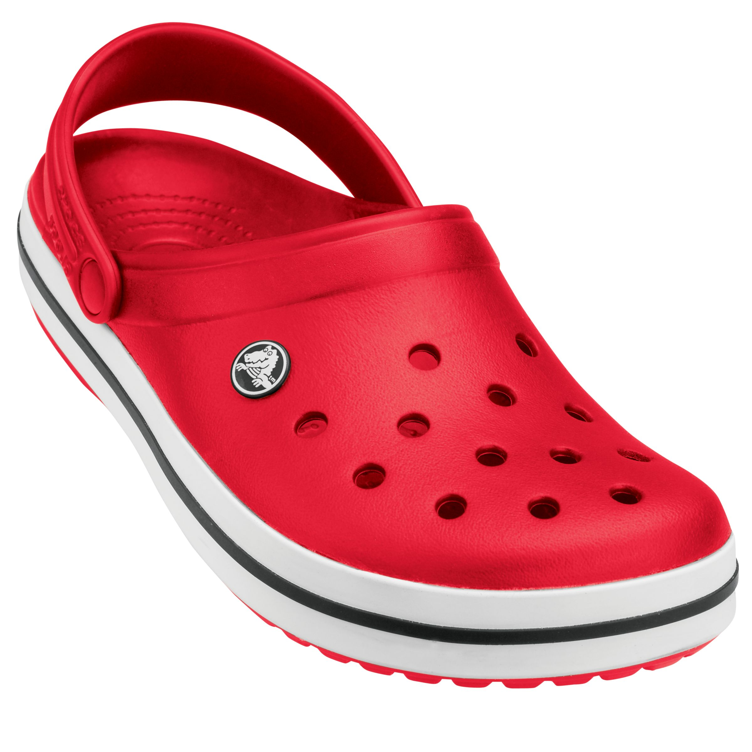 Crocs Crocband Sandals, Red 362575