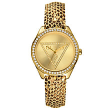Buy Guess W70015L2 Women's Mini Triangle Logo Bracelet Watch Online at johnlewis.com