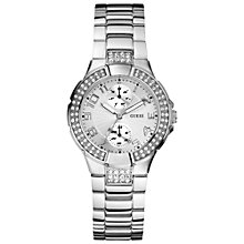 Buy Guess W12609L1 Women's Stainless Steel Bracelet Watch Online at johnlewis.com