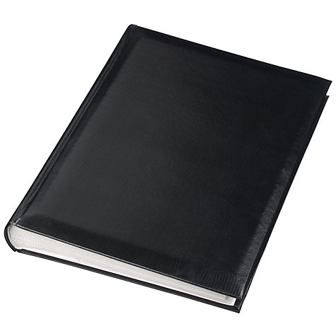 Buy John Lewis Slip-In Photo Albums Black Online at johnlewis.com