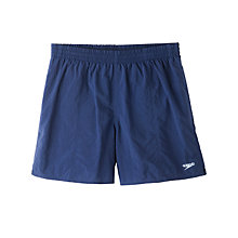 Buy Speedo Solid Watershort Swim Shorts, Blue Online at johnlewis.com