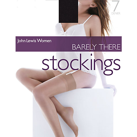 Buy John Lewis Barely There Stockings Online at johnlewis.com