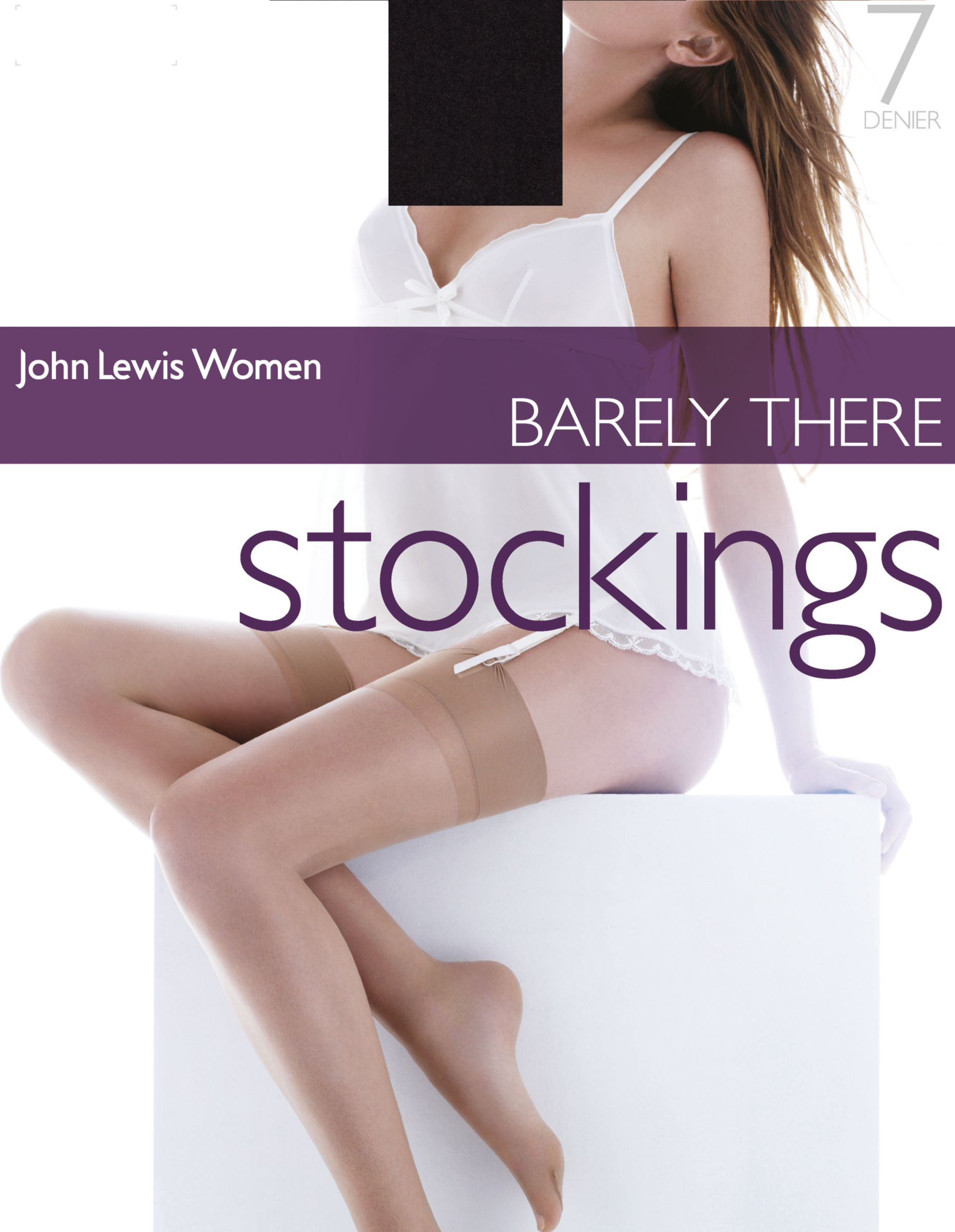 John Lewis Barely There Stockings