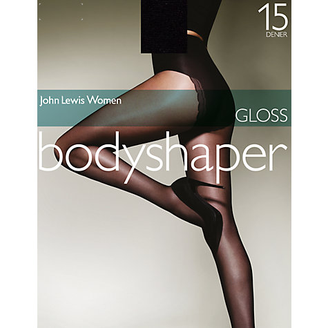 Buy John Lewis Gloss Bodyshaper Tights Online at johnlewis.com