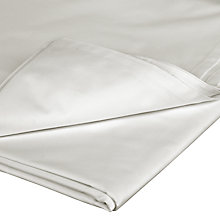 Buy John Lewis Fairtrade Organic Cotton Flat Sheets, White Online at johnlewis.com