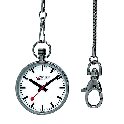 Buy Mondaine  A6603031611SBB Men's Analogue Pocket Watch Online at johnlewis.com