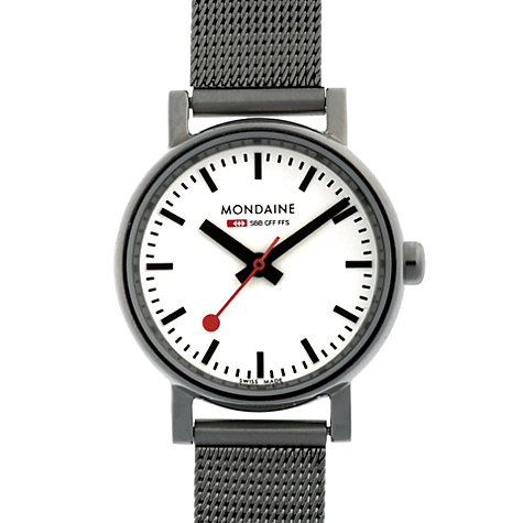 Buy Mondaine Evo Quartz Women's Analogue Bracelet Watch Online at johnlewis.com