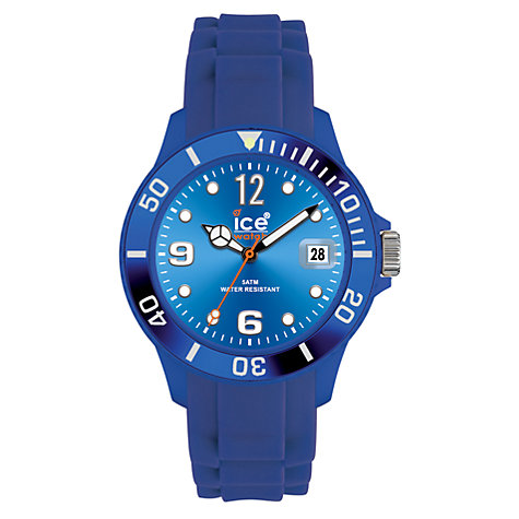 Buy Ice-Watch SI.RD.S.S Analogue Silicon Strap Watch Online at johnlewis.com
