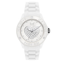 Buy Ice-Watch LO.PK.S.S Women's 3D Heart Dial Strap Watch Online at johnlewis.com