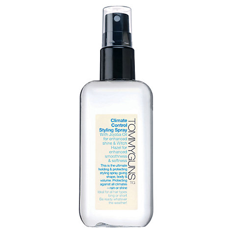 Buy TommyGuns Climate Control Styling Spray, 150ml Online at johnlewis.com
