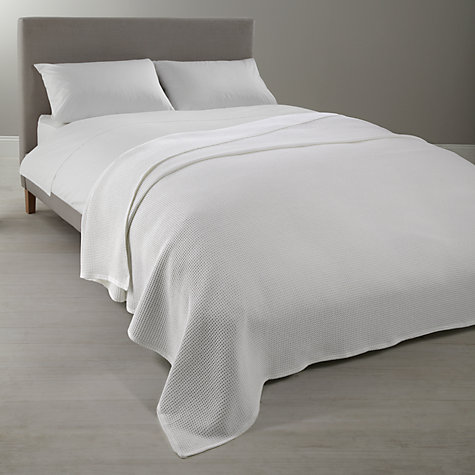 Buy John Lewis Sumptuous Pima Cotton 800 Thread Count Satin Flat Sheets, White Online at johnlewis.com