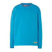 Buy Beavers Long Sleeve Sweatshirt, Turquoise Online at johnlewis.com
