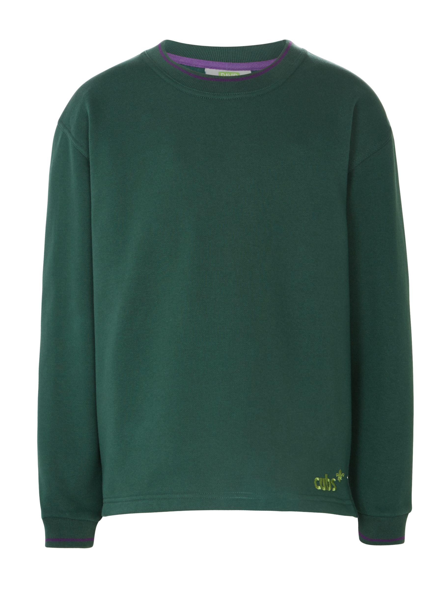 Cubs Cubs Long Sleeve Sweatshirt, Green