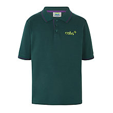 Buy Cubs Short Sleeve Polo Shirt, Green Online at johnlewis.com