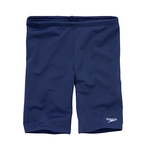 Buy Speedo Boys' Jammers Swimming Shorts, Navy Online at johnlewis.com