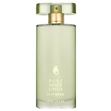Buy Estée Lauder Pure White Linen Light Breeze Eau de Parfum, 50ml with The Makeup Artist Collection Online at johnlewis.com
