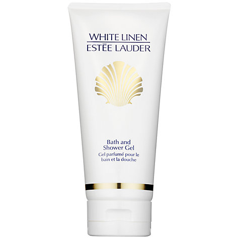 Buy Estée Lauder White Linen Bath and Shower Gel, 200ml Online at johnlewis.com