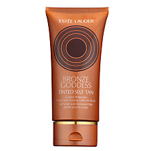 Buy Estée Lauder Bronze Goddess Tinted Self-Tanning Gelée for Body Online at johnlewis.com