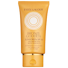 Buy Estée Lauder Bronze Goddess Sun Indulgence Lotion For Face SPF30, 50ml Online at johnlewis.com