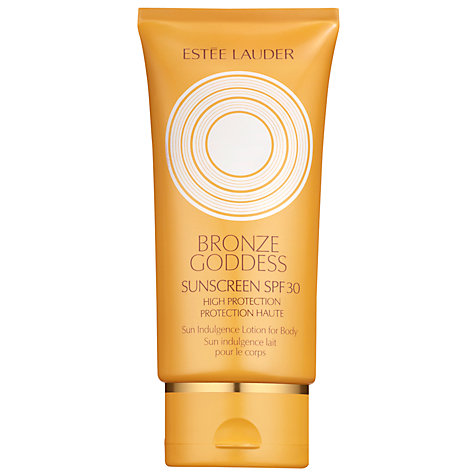 Buy Estée Lauder Bronze Goddess Sun Indulgence Lotion For Body SPF30, 150ml Online at johnlewis.com