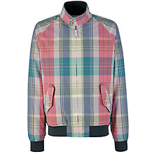 Buy Gant Miami Madras Check Jacket Online at johnlewis.com